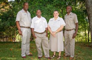 Employees of the year 2015 at Victoria Falls Safari Lodge, Zimbabwe