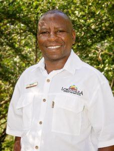 Employee of the year at Victoria Falls Safari Lodge