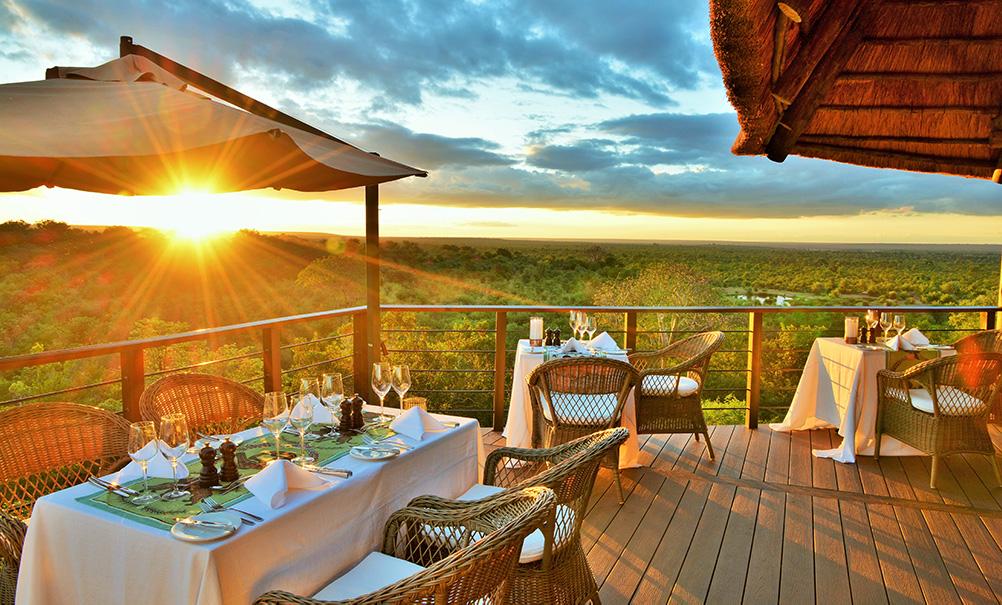 Victoria Falls Safari Club Restaurant